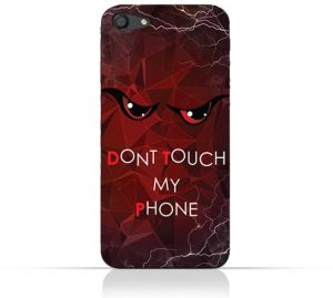 Oppo A7 7 TPU Silicone Case With Don't Touch My Phone 3 Desig7