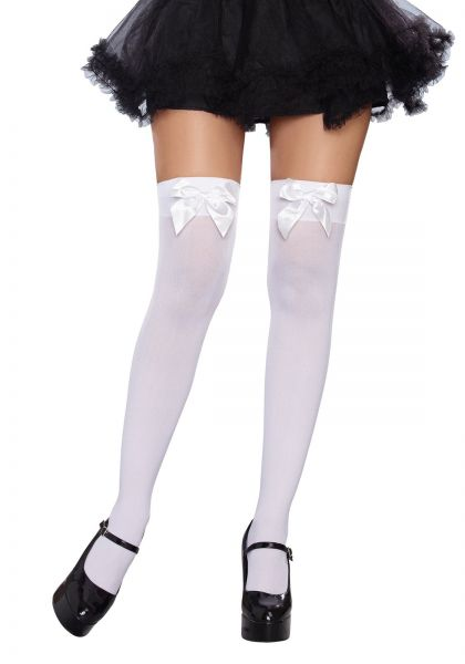 d9243c47d Dreamgirl Women s Bow Top Stockings