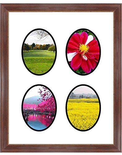 Frames By Mail multimat-58719-aam6003 Four Oval Opening Collage ...