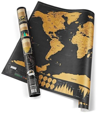 Souq deluxe travel edition scratch off world map poster 2482 aed gumiabroncs Gallery