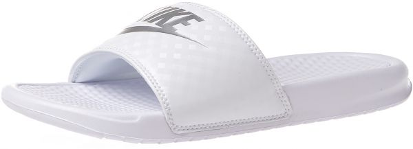 cc178597846fdf Nike White Slides Slipper For Women