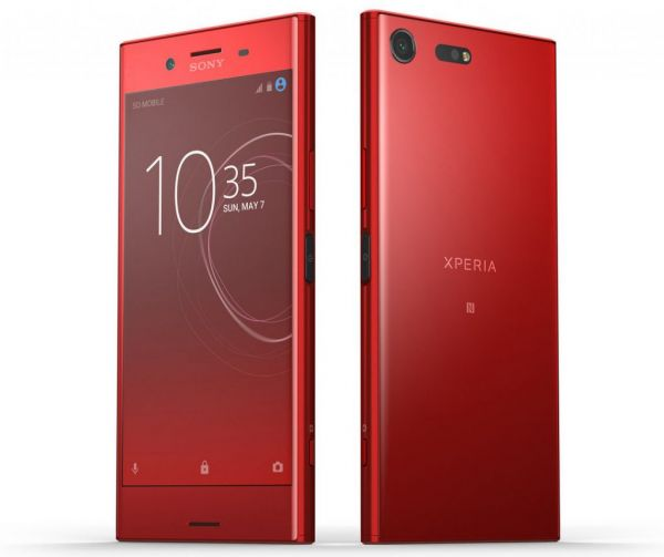 souq sony xperia xz premium dual sim 64gb 4gb ram 4g lte rosso kuwait. Black Bedroom Furniture Sets. Home Design Ideas