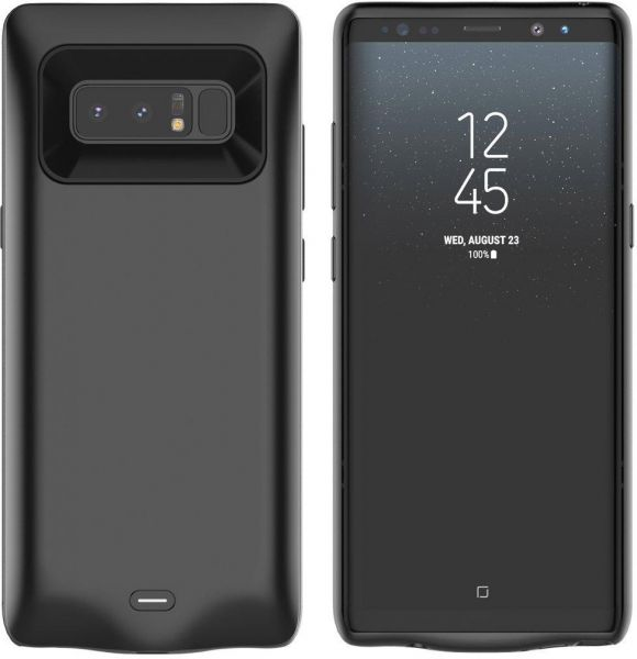 new arrival 52344 cbdcf Samsung Galaxy Note 8 Battery Case - Black Color