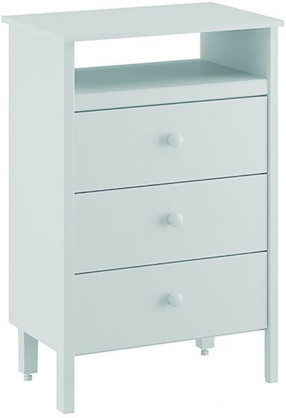 Ditalia Moveis Cabinet With 3 Drawers And A Single Open Compartment