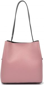 54c4fb9be3 Carla Ferreri AW17 CF 1276-ROSA SCURO Tote Bags For Women - Leather