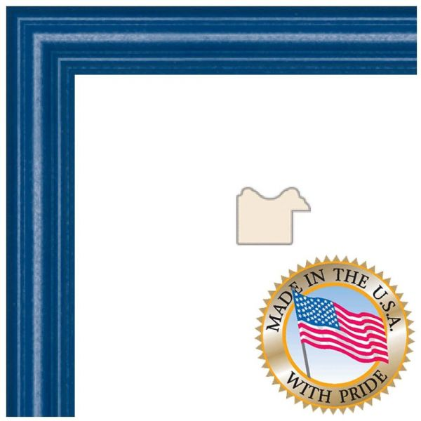 ArtToFrames 18x20 / 18 x 20 Picture Frame Blue Stain on Red Oak .. 1 ...