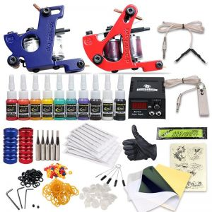 Kit Machine A Tatouer Professionnel buy tattoo machine | solong,beauenty,axebon - uae | souq