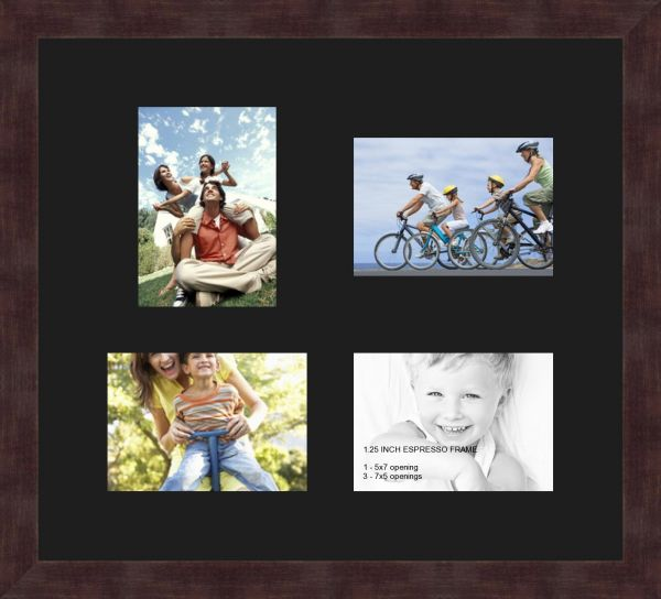Art to Frames Double-Multimat-1118-89/89-FRBW26061 Collage Frame ...