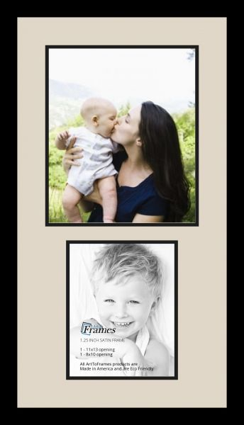 Art to Frames Double-Multimat-1130-844/89-FRBW26079 Collage Photo ...
