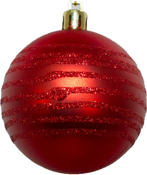 Christmas Magic 6cm Christmas Ball, Red