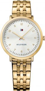 45ec7366a50aea Tommy Hilfiger Women's Silver Stainless Steel Band Watch - 1781761
