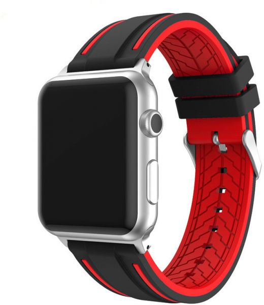 1e2c01f7b58 Replacement Apple Watch 38mm Sport Silicone Band For iWatch Series 3 ...