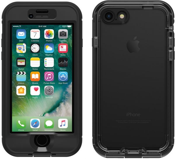 Lifeproof Nuud Protective Waterproof Case for Apple iPhone 7 8 - Black b8986b73e72c