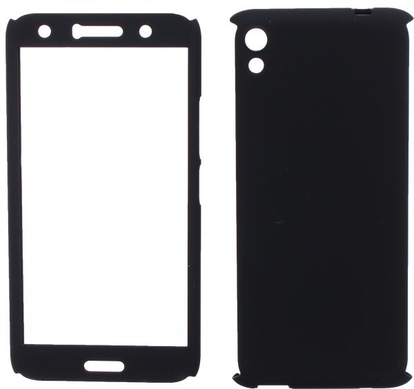 uk availability f0dbe 7af5f 360 Protect Case Full Cover For Infinix Hot 5 Lite, Black