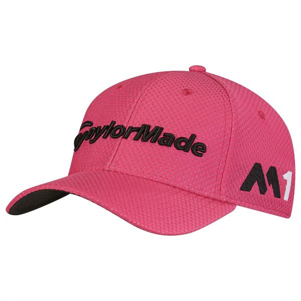 230ab3fab5c TaylorMade Tour Cage Fitted Hat pink