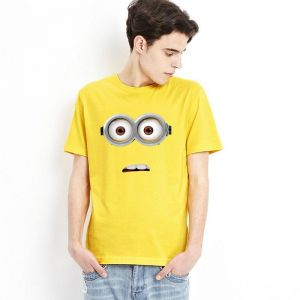 0526098d912c0 Family T- shirts Minions yellow for Male Dad