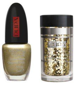 Pupa Nail Art Mania Party Queen Number 1 Gold Paillettes Souq Egypt