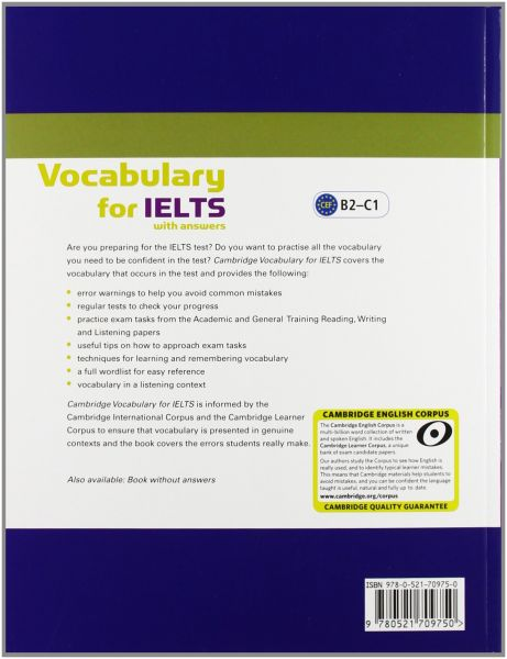 Vocabulary For Ielts Book