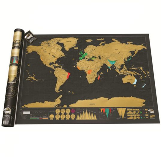 Souq travel edition scratch off world map poster personalized travel edition scratch off world map poster personalized journal maydj035 gumiabroncs Choice Image