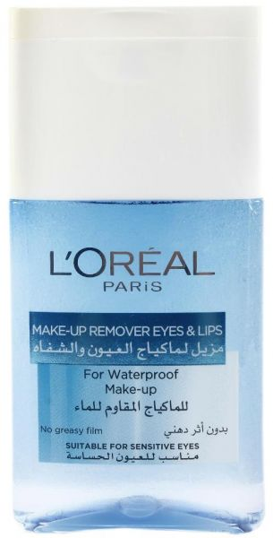 61d583f49 L'oreal Paris Makeup Remover Eyes and Lips For Waterproof Makeup ...