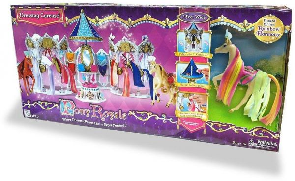 Toys R Us Pony Royale Exclusive Dressing Carousel With Harmony