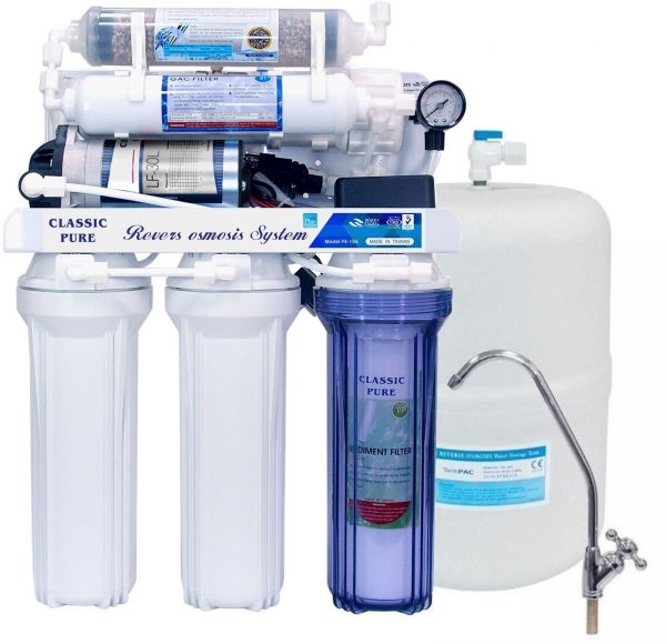 6 Stage Reverse Osmosis Water Filtration Home System Ksa