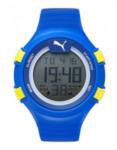 2d17bbeaacd23 Puma Faas 100 L Men s Performance Watch - Blue   One Size Fits All