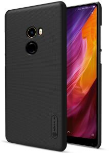 XIAOMI Mi MIX2 / MIX-II Nillkin Super Frosted Shield Back Case [Black Color] OFFER BY ONLINEPHONE