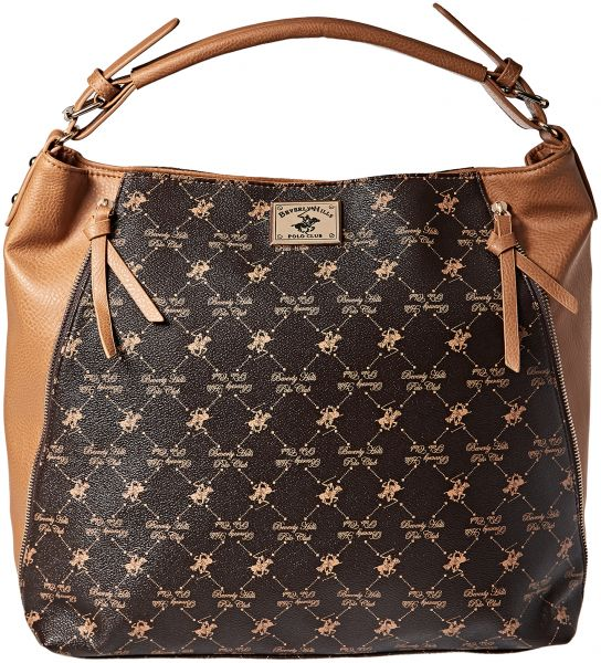 Beverly Hills Polo Club Hobos For Women Brown