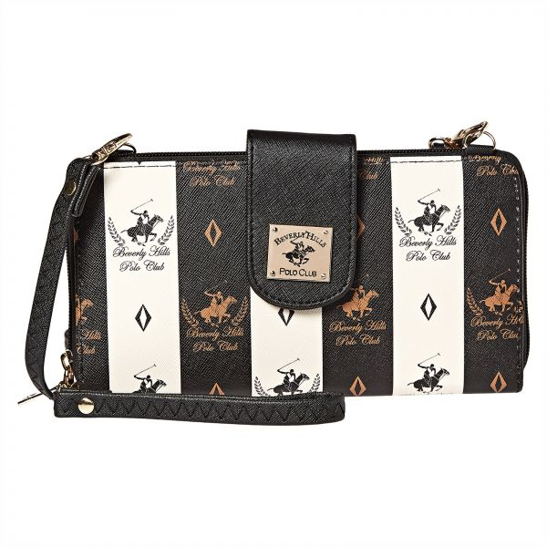 Beverly Hills Polo Club Clutch For Women Black