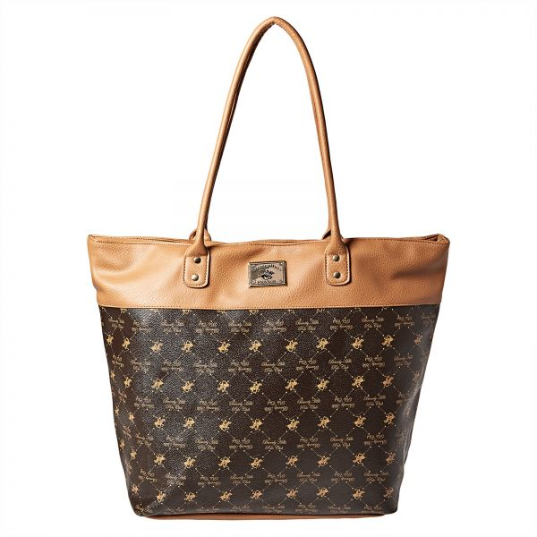 Beverly Hills Polo Club Tote Bag for Women - Brown  4d44ab162074f