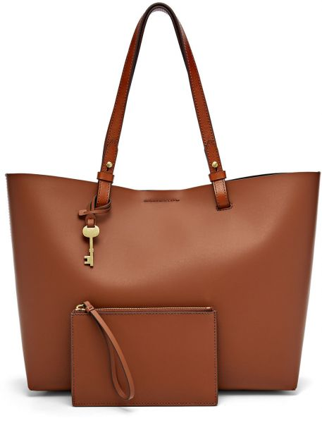 Fossil Tote Bag For Women Brown - ZB6817200  8a11c4dc83931