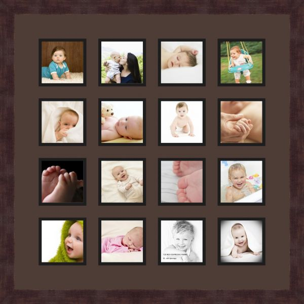 Art to Frames Double-Multimat-458-776/89-FRBW26061 Collage Frame ...