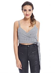f156f1ee440300 Fashion Union Cami Top for Women - Light Grey