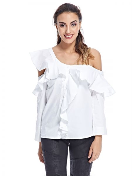 e69b9f0d99 Fashion Union Blouse for Women - White