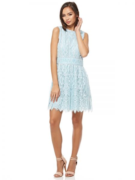 Juicy Couture A Line Dress For Women Light Blue