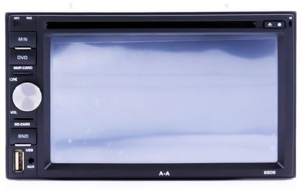 AA Double DIN Car DVD Player With GPS Navigation FOR UNIVERSAL MODEL WITH MAGIC BOX CAR SEAT ORGANIZER