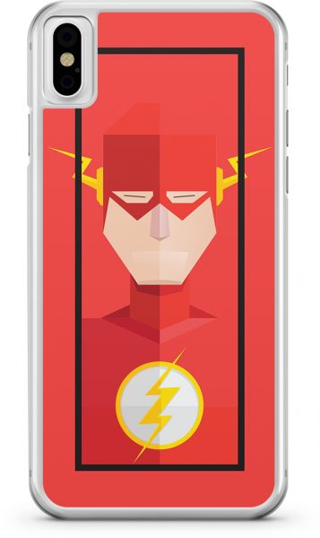 Apple Iphone X Transparent Edge Flash Superhero Multi Color Souq