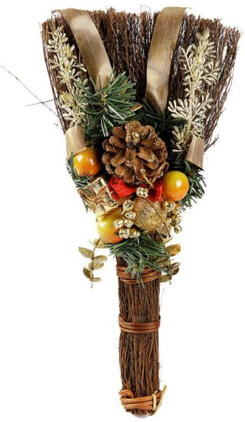 this item is currently out of stock - Christmas Broom Decoration