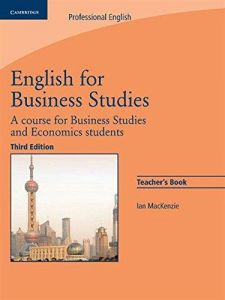 English	 for Business Studies: Teacher`s Book: A Course for Business Studies and Economics Students ,Ed. :3
