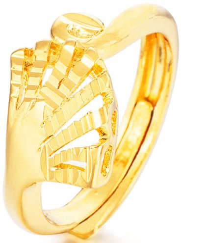 Unique creative gold-plated ring