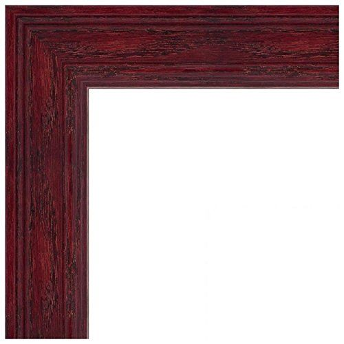 Picture Frame Off White Stain on Solid Wood .. 1.5\'\' wide 12 x 20 ...