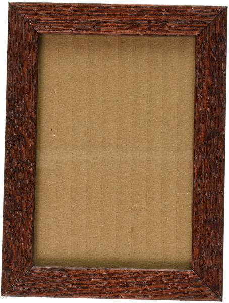 Picture Frame White Stain on Red Oak .. .625\'\' wide 10 x 14\