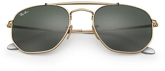 881d2b6f2bfe9 Rayban Marshal Gold Classic Green Unisex Rb3648 001 N.C