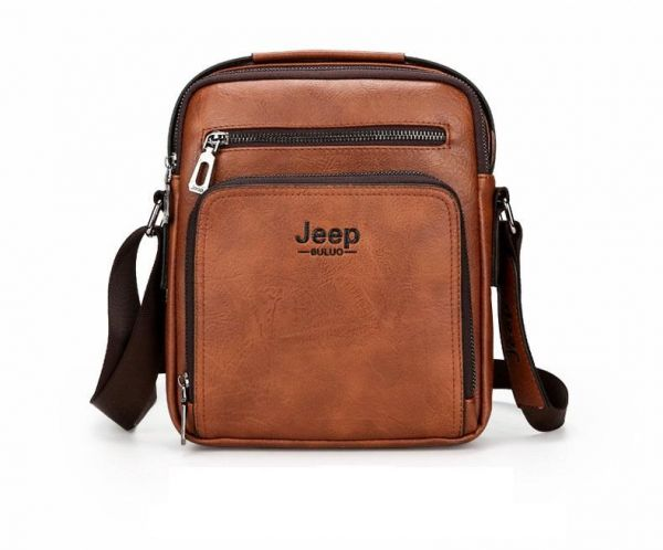 Jeep Buluo Bag For Men,Tan - Crossbody Bags