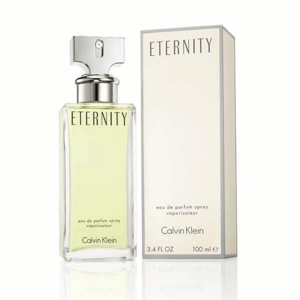 Eternity By Calvin Klein For Women Eau De Parfum 100ml