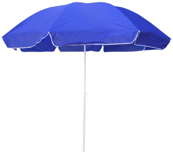 Foldable Umbrella for Camping and Beach, Height Adjustable with Waterproof Fabric, 218 cm Dia Size