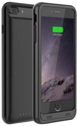 newest 6c131 1be4c Merlin Battery Case For Apple Iphone 8 Plus- Black, 93569