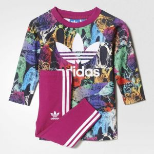 af5bbeb3 Adidas Baby Clothing Set For Girls - Pink | Souq - Egypt