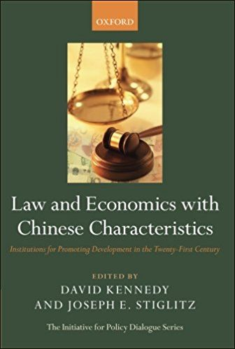 Law And Economics With Chinese Characteristics:Institutions